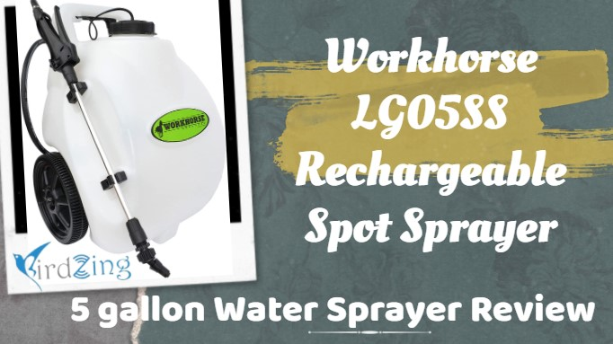workhorse 5 gallon rechargeable spot sprayer