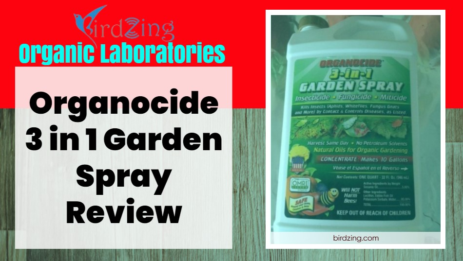 Organocide 3 in 1 Garden Spray Review