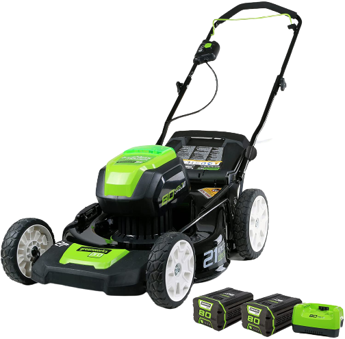 Greenworks Pro 21-inch 80v cordless lawn mower Review