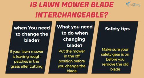 How to Replace or Change lawn mower blade